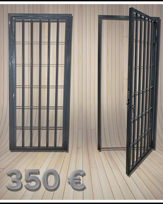 Puertas barrotes con precio